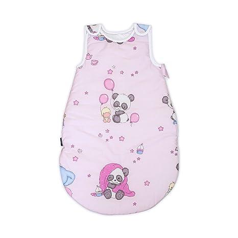 Panda y amigos PatiChou Sacos de dormir sin relleno para bebés 0 - 6