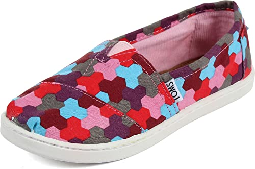 9a41dd6c025 Image Unavailable. Image not available for. Color  TOMS Youth Classic Slip- On ...