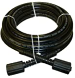 "B & S, Craftsman, Generac & Karcher 1/4"" X 50' Pressure Washer Hose - Made in USA"