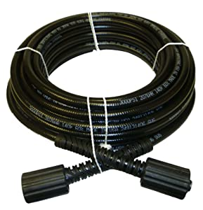 """1/4 IN. x 50 FT. Pressure Washer Hose Replacement for B & S, Craftsman, Generac & Karcher"""". The manufacturer is """"Propulse"""" and the brand is """"Propulse"""
