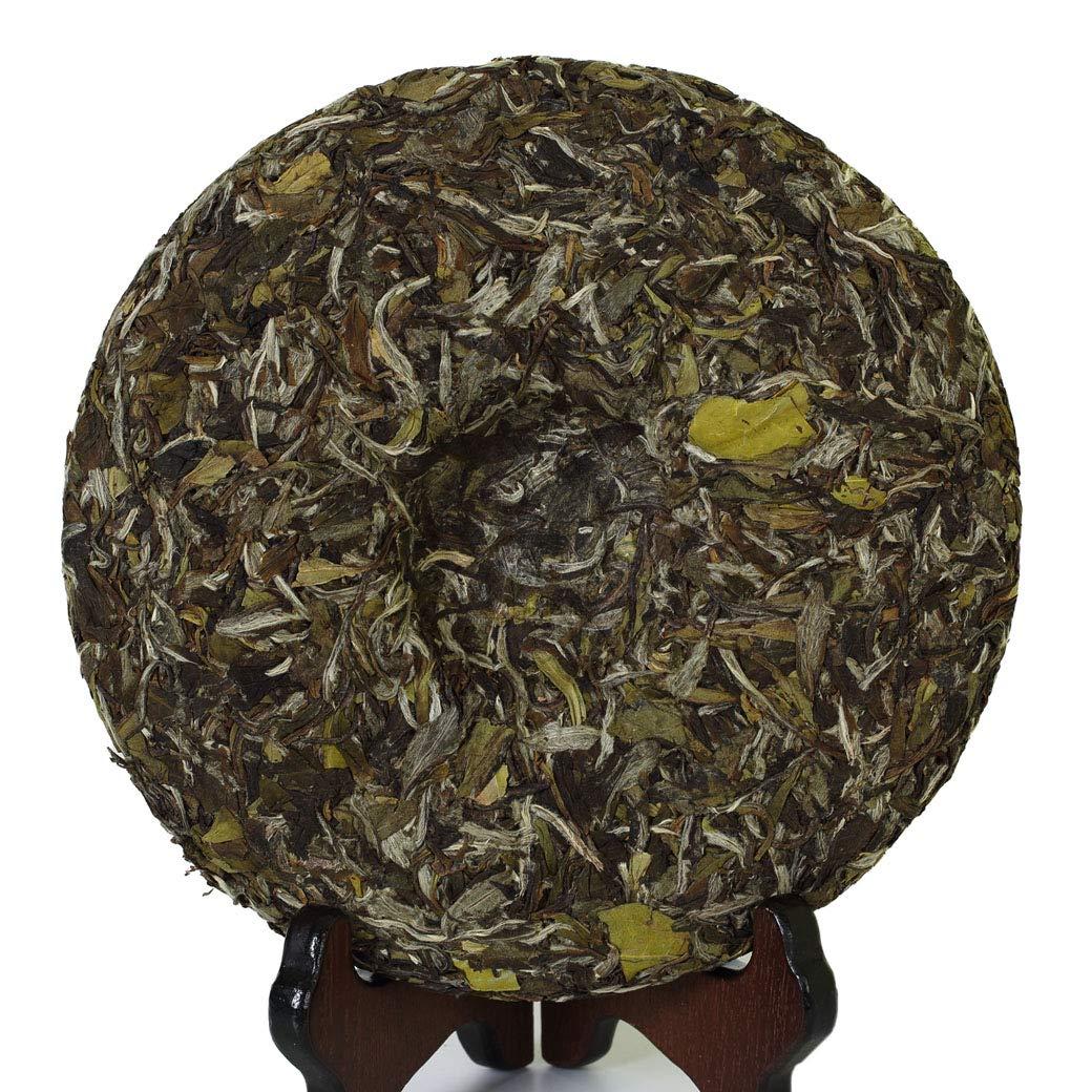 GOARTEA 300g (10.58 oz) 2014 Year Remote Mountain Wild FuDing Supreme Bai Mu Dan King White Peony Cake White Tea by GOARTEA (Image #3)