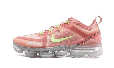 b71104ecc2841 Amazon.com | Nike WMNS Air Vapormax 2019 (Pink Tint/Barely Volt 9W ...