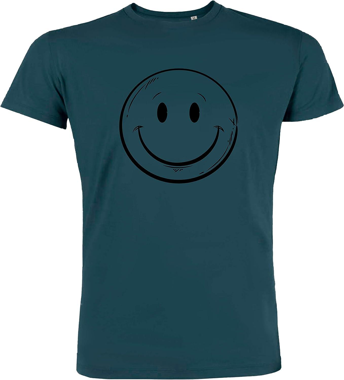 Redshirt Nice Smile - Camiseta para hombre (algodón ecológico, comercio justo): Amazon.es: Ropa y accesorios