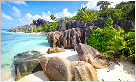 1000 Watt 7. Wasserfall kanchanbaburi, Thailand 200+ Bilder Bildheizung in HD Qualit/ät mit T/ÜV//GS mit Thermostat 7 Tage Programm K/önighaus Fern Infrarotheizung