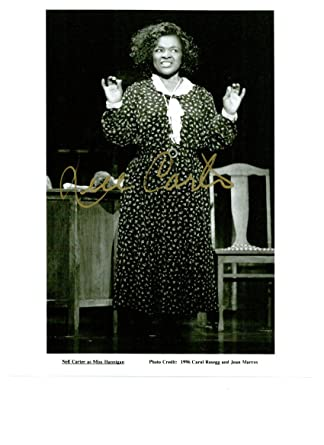 Nell Carter 8 x 10 Celebrity Photo Autograph