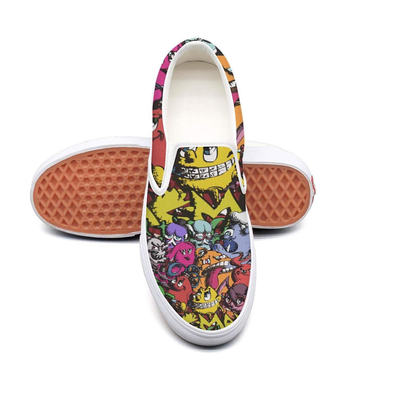 NI kingss Womens Slip-on Canvas Casual Shoes Sneakers Low Top Footwear Sneakers
