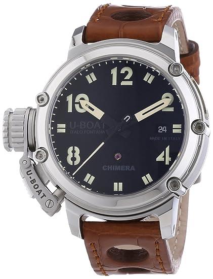 U-Boat 7226 - Reloj de automático para hombre, con correa de otros materiales