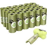 Viesap Bolsas Caca Perro, 390 Bolsas Para Excrementos De Perro Con Dispensador, Extra Gruesas Bolsas Perro…