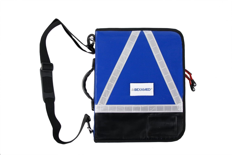 MULTI Einsatz Organizer DIN A4 PLANE 28 x 6 x 37 cm, Farbe:Blau