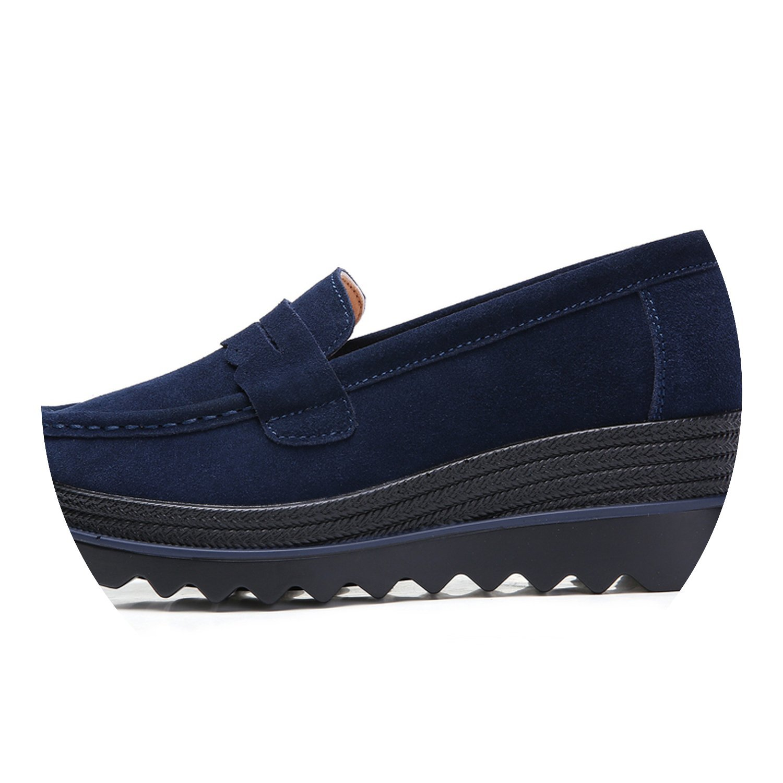 messieurs et mesdames 2018 automne femmes flats chaussures glisser sur talons la plate - forme baskets talons sur creepers mocassins 8775 chaque point décrit est disponible premier lot de cl ient s d ivers modèles wn26614 plus tard dadcc3