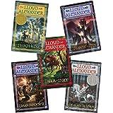 The Chronicles of Prydain 5 Volume Set:The Book of Three, The Black Cauldron, The Castle of Llyr, Taran Wanderer, The High Ki