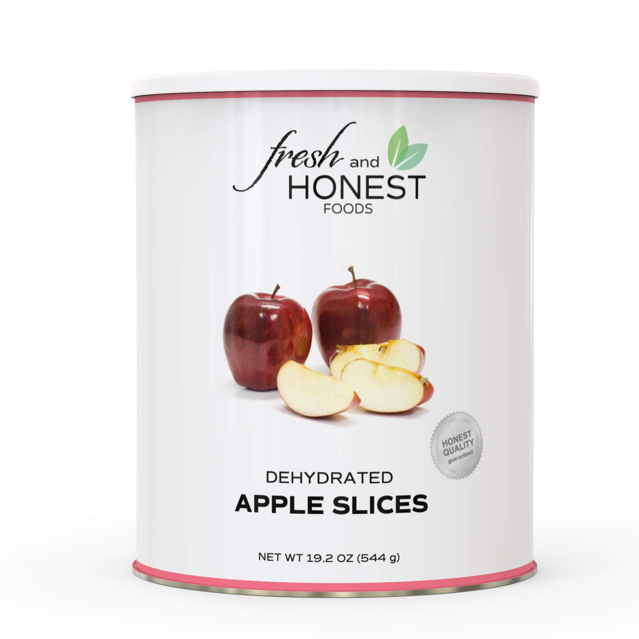 Fresh and Honest Foods Dehydrated Apple Slices 19.2 OZ #10 Can