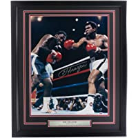 $269 » Joe Frazier Signed Framed 16x20 Boxing Photo vs. Ali PSA/DNA