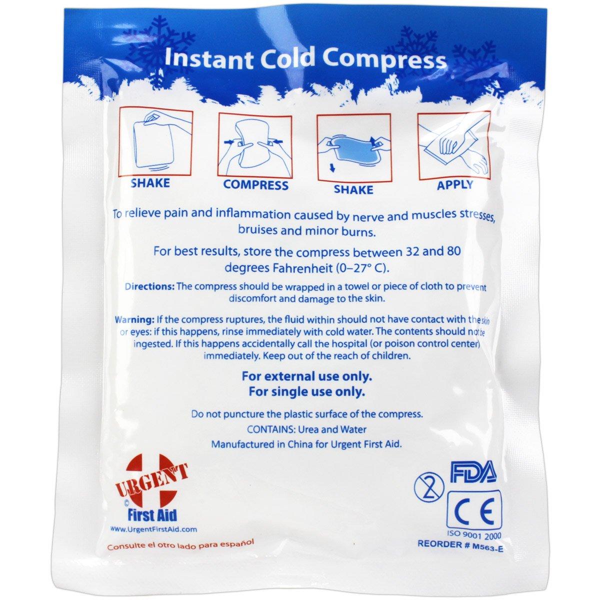 Amazon.com: Funda de 125 frío instantáneo paquetes, 5