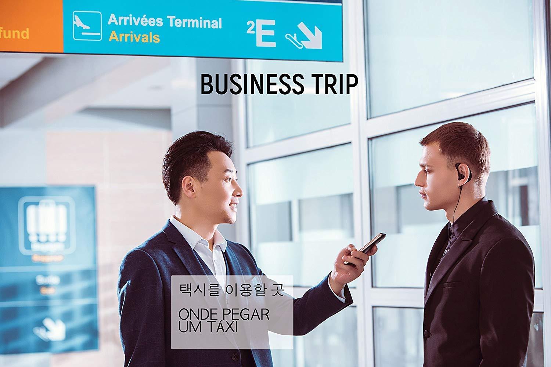 iFLYTEK Translator 3.0 Instant Smart Voice Language Translator 3.1'' Screen Portable Device Two-Way Translation of Chinese to 60 Languages for Travel,Business and Study Offline (Black iFLYTEK 2.0) by iFLYTEK