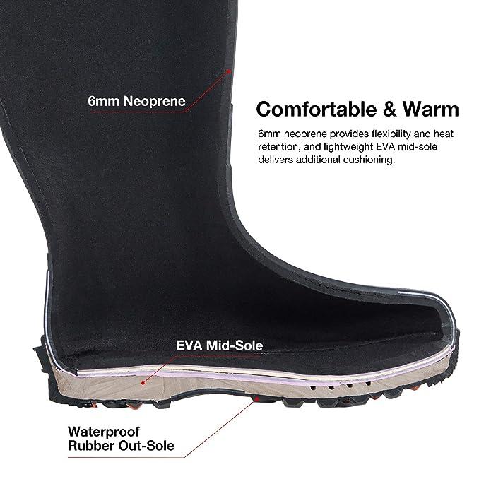 b47201384748d Amazon.com: TideWe Hunting Boot for Women, Insulated Waterproof Durable 15