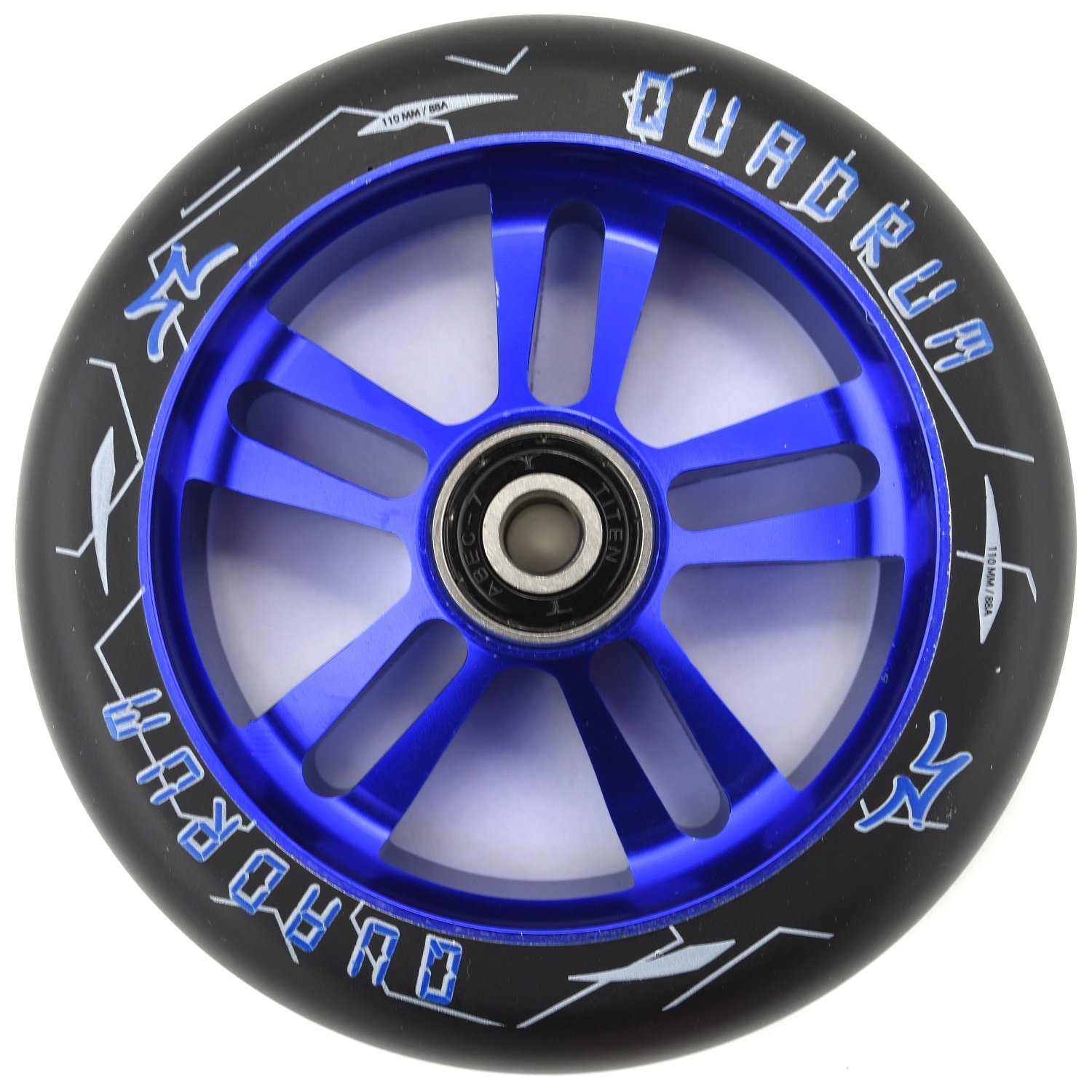 AO QUADRUM 10 de Star Patinete de 110 mm Rollo + Fan tic26 ...