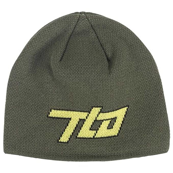 434960fe Troy Lee Designs Mens Blocker Beanie Hat One Size Fits All Army at ...