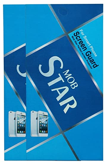 MOBSTAR Diamond Screenguard for Lenovo Z2 Plus  Pack of 2  Screen guards