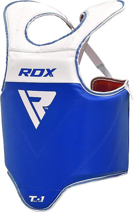 6 opinioni per RDX Corpetto Protettivo Corpetti Taekwondo Torace Petto Guardia Corpo Kickboxing