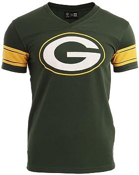cb05a25d4 New Era Ne96336Fa16 Nfl Supprtrs Jrsy Grepac Cig - Camiseta manga  corta-Línea Green Bay Packers para hombre