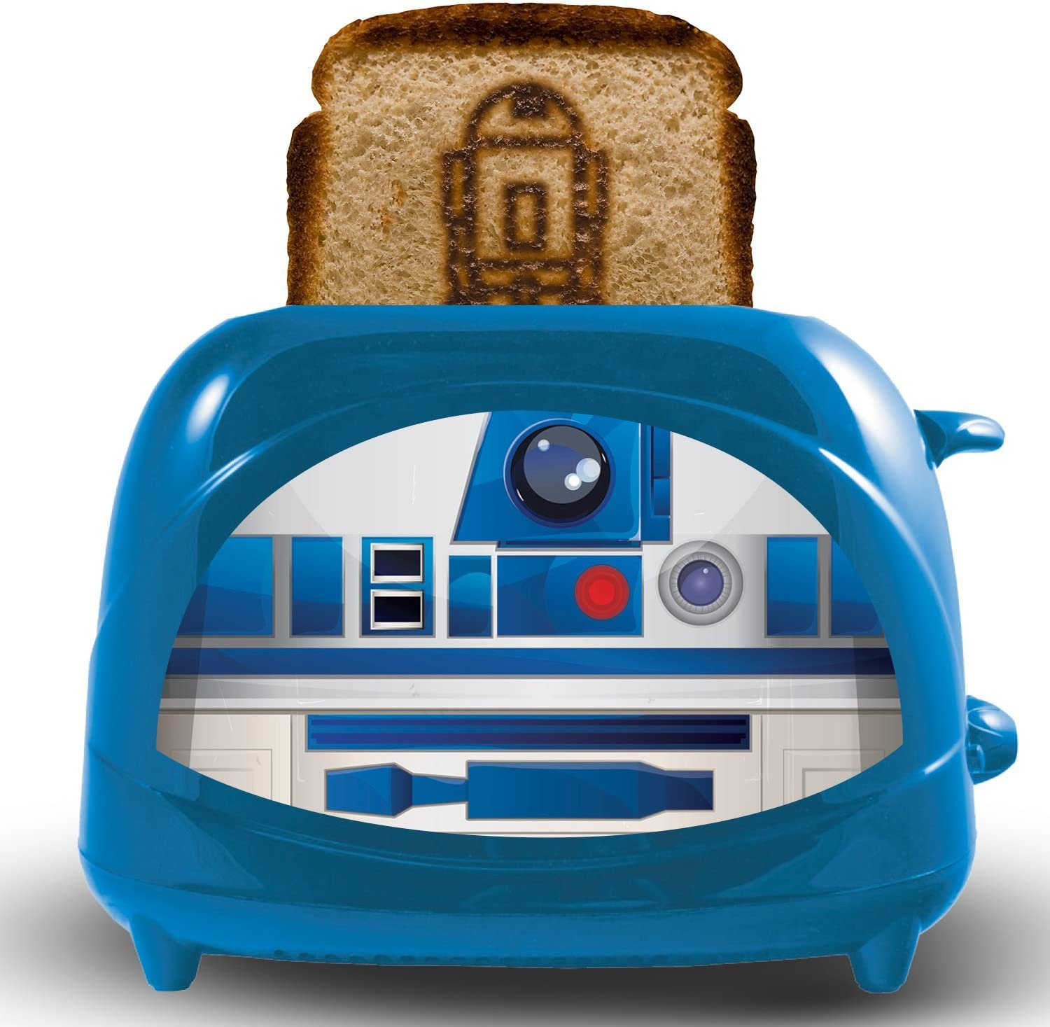 Uncanny Brands Star Wars R2-D2 Empire 2-Slice Toaster- Toasts Iconic Droid onto Your Toast
