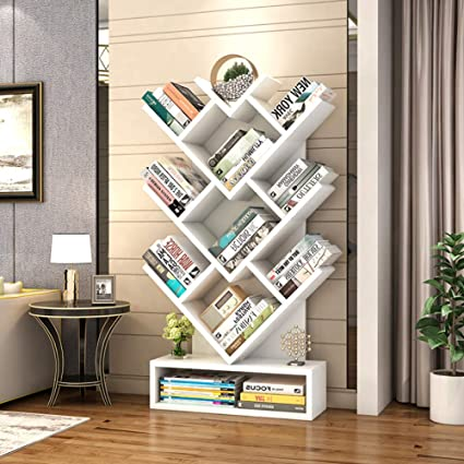 check out 7b93e 2e3a8 Amazon.com: ZY&DD Tree Bookshelf,Modern Bookshelves,Creative ...