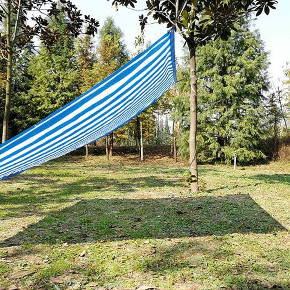 Sunscreen net Red de sombrilla con Rayas Azules y Blancas, Red de ...