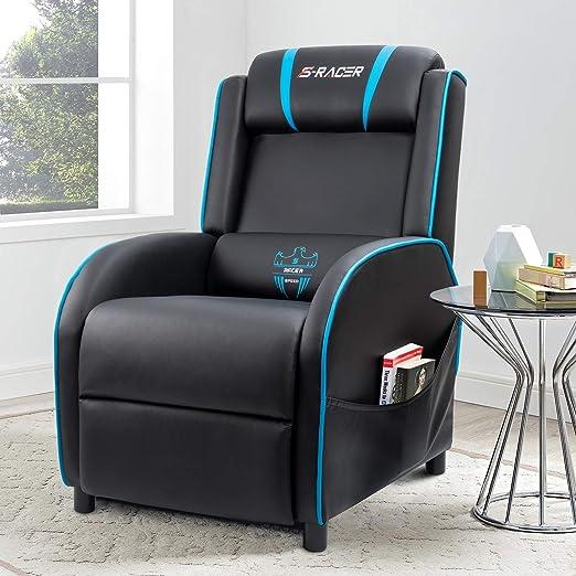 Amazon.com: Homall - Silla reclinable para videojuegos, para ...