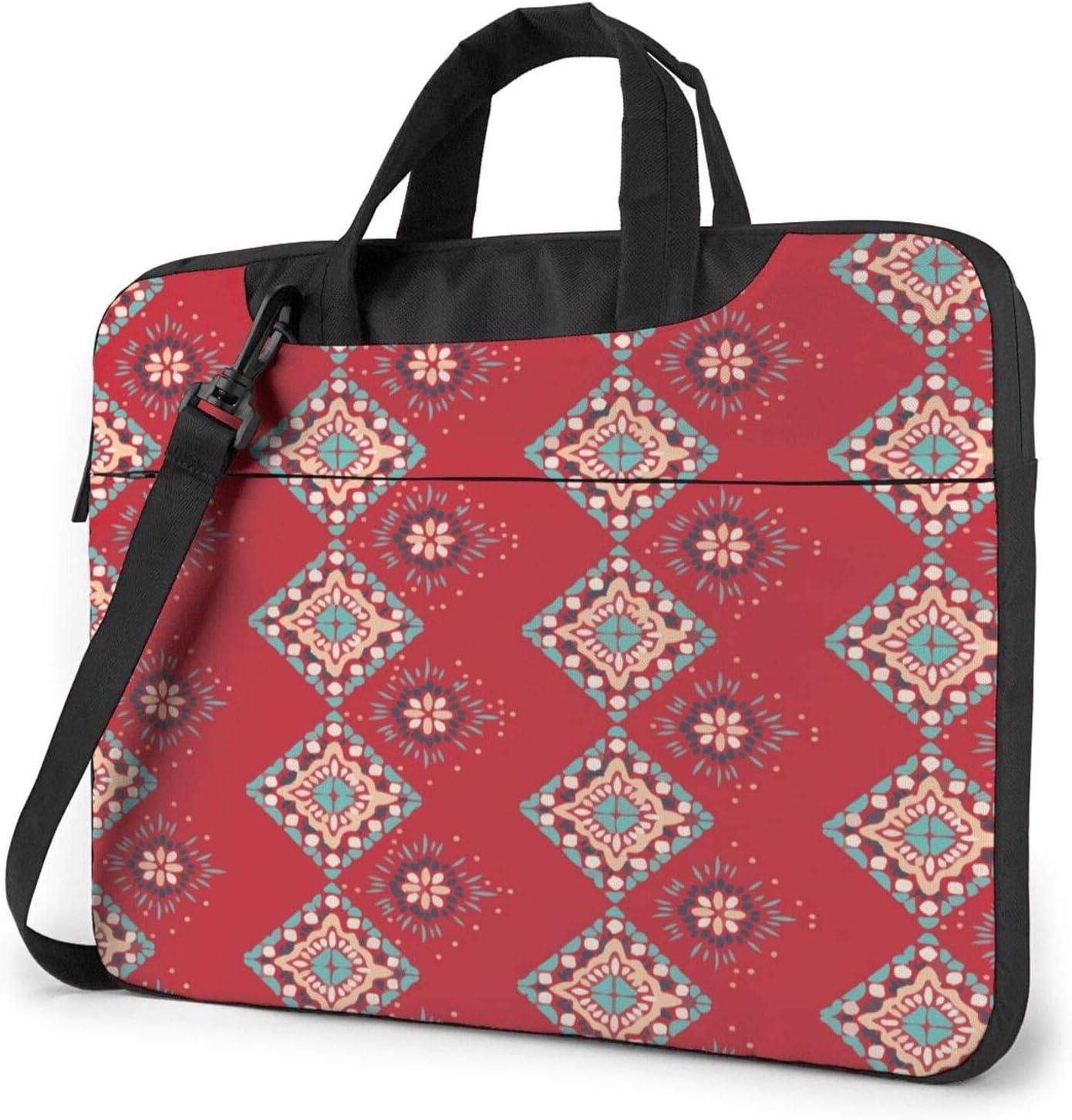 Laptop Messenger Folklore Aztec Indian Gypsy Shoulder Bag Briefcase Office Laptop Sleeve Case Luggage for Men Women 13 Inch