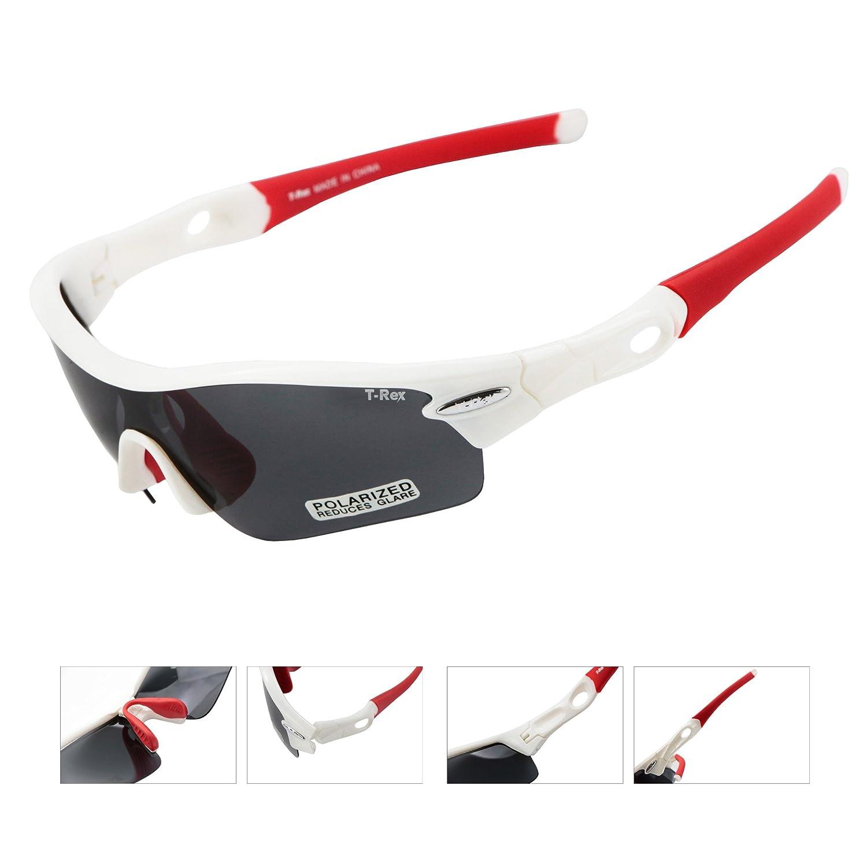 West Biking radfahr polarizadas de gafas de sol, gafas de sol para correr/Ciclismo/Esquí, con 4 extra de cristales intercambiables, hombre unisex ...