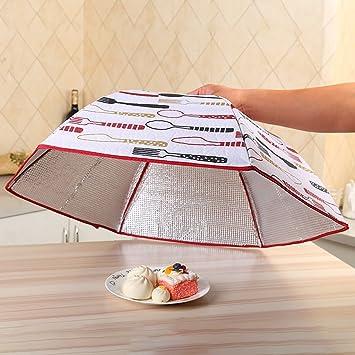 Essen Abdeckung Faltbare Isolierung Runde Schale Abdeckung Tisch