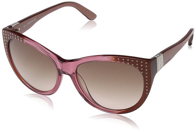 Swarovski Sonnenbrille SK0087 5838F Gafas de sol, Multicolor ...