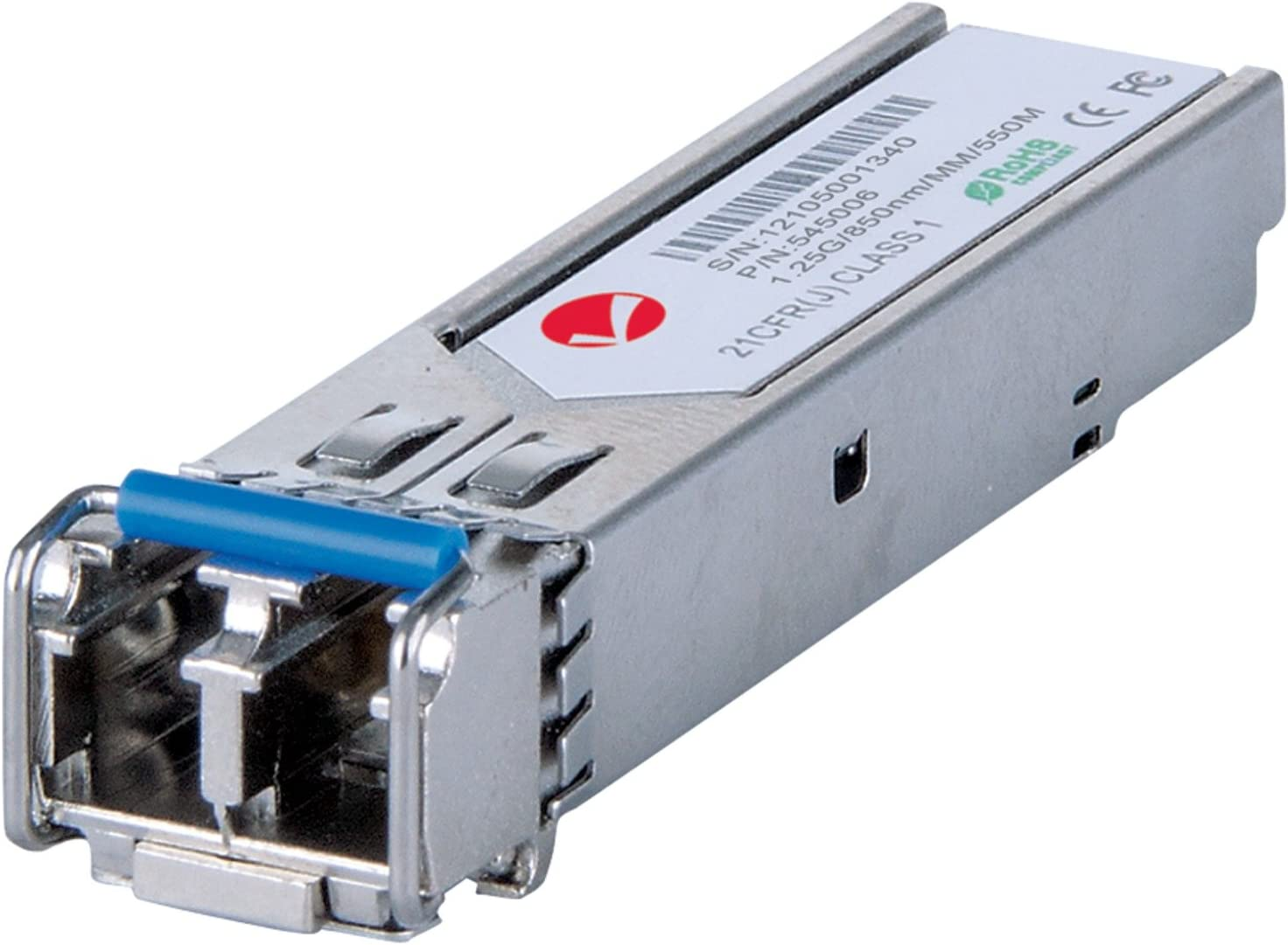 1 x 1000Base-SX Transceiver Module mini-GBIC Intellinet Network Solutions 545006 SFP