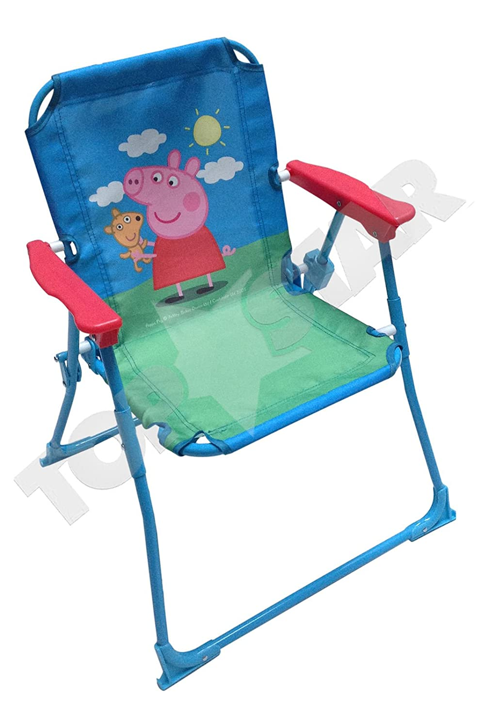 Peppa Pig Childrenu0027s DeckChair - Kids Deckchair - Beach chair - Mini Deckchair Amazon.co.uk Garden u0026 Outdoors  sc 1 st  Amazon UK & Peppa Pig Childrenu0027s DeckChair - Kids Deckchair - Beach chair - Mini ...