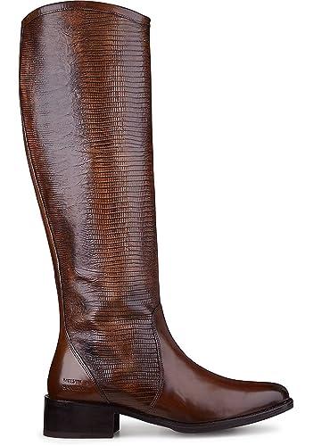 purchase cheap 1bfea 1db71 Melvin & Hamilton Stiefel Elaine 11 Crust Wood (36): Amazon ...