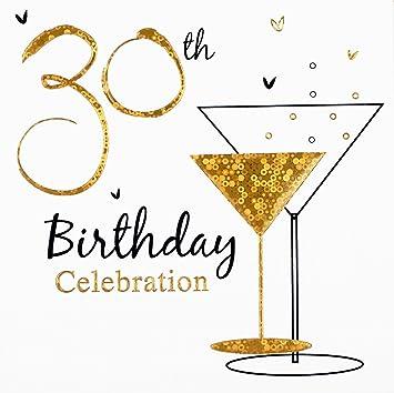 Birthday Party Invitations Pack of 6 30th Birthday Amazonco