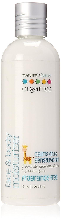 Nature s Baby Organics Face Body Moisturizer Fragrance Free 8 oz 236 5 ml