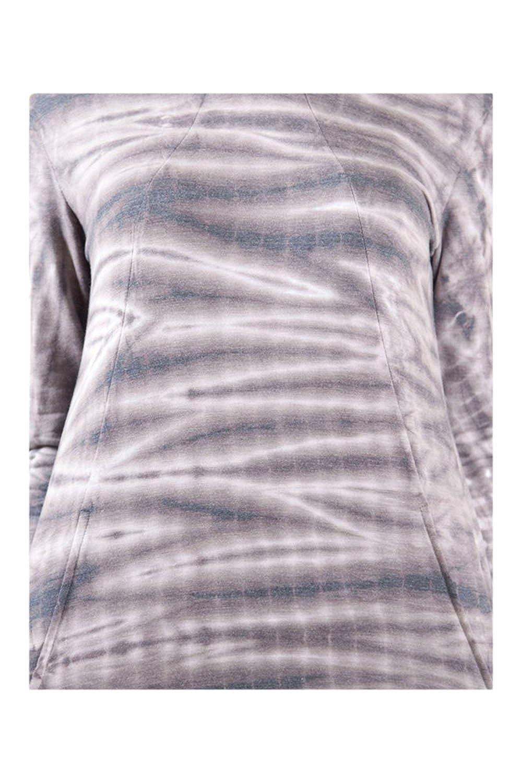 Boutique Yoga Fashion Stripes Tie Dye Super Soft Hoodie