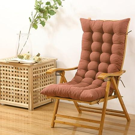 Sqinaa Lengthen Jumbo Rocking Chair Cushions In Winter Backrest