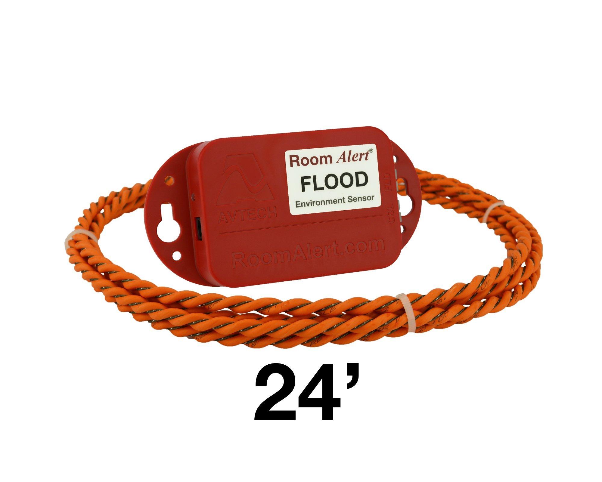 Flood Sensor w/24' Flood Cable