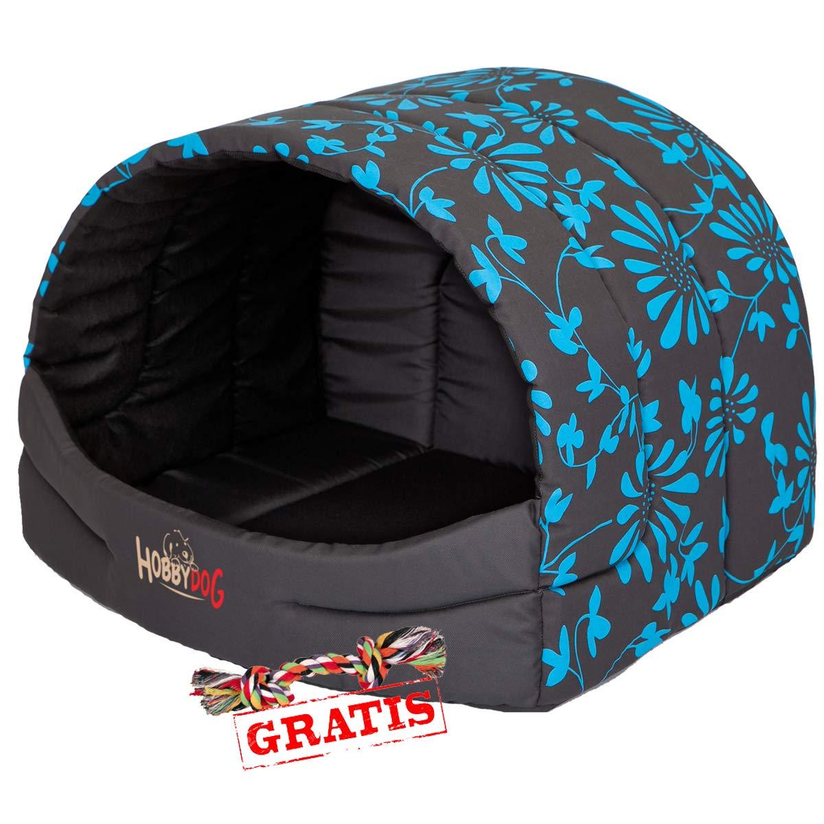 migliore marca Hobbydog BUSNIK4 - Cuccia per Cani e Gatti, con con con Pallina Inclusa, Misura S-XL  prodotto di qualità