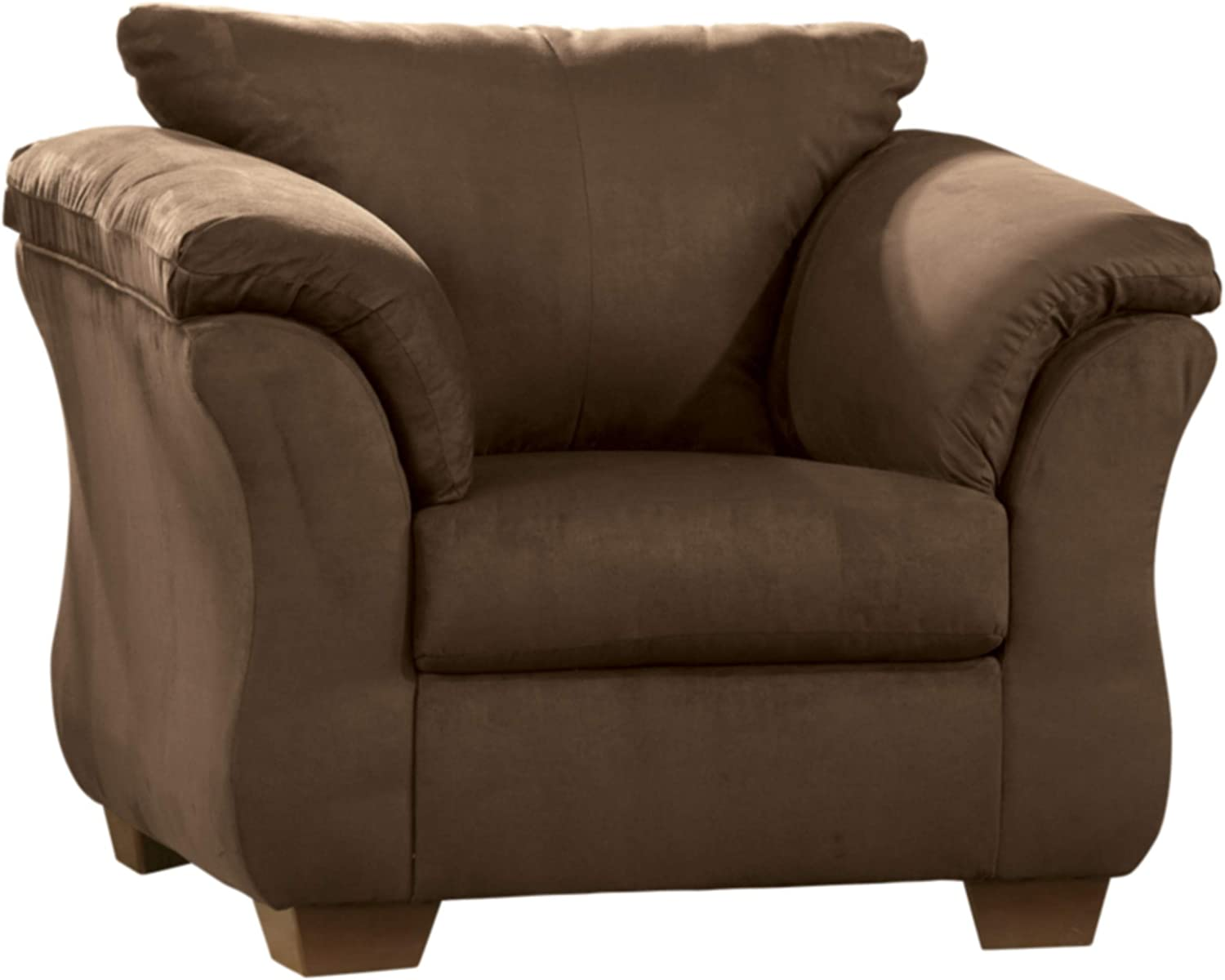 Signature Design by Ashley - Darcy Accent Arm Chair w/ Loose Seat Cushion, Cafe Brown