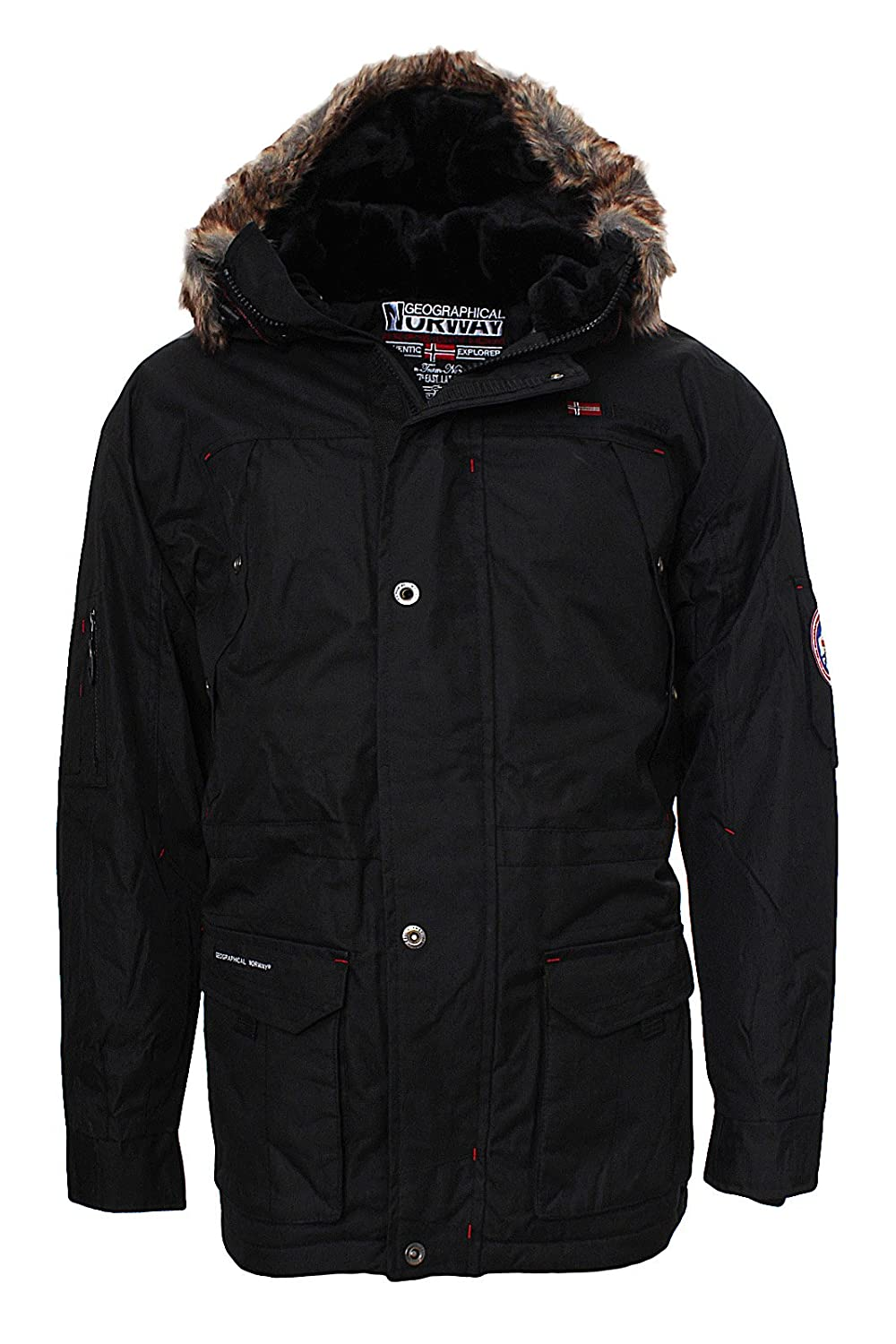GEOGRAPHICAL NORWAY OUTDOOR PARKA Mantel Polar Alaska Neu
