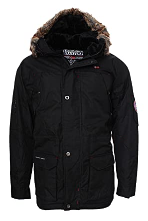 Winterjacke herren mit fell jacke geographical norway