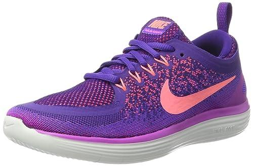 sale retailer 4f12b 6dfc5 Nike Women s Nike Free Rn Distance 2 Running, Women s Multisport Indoor  Shoes, Purple (