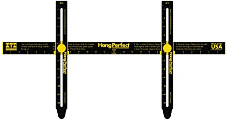 Hang It Perfect Easy Frame Hanging Tool Black 24 Hip24 Amazon