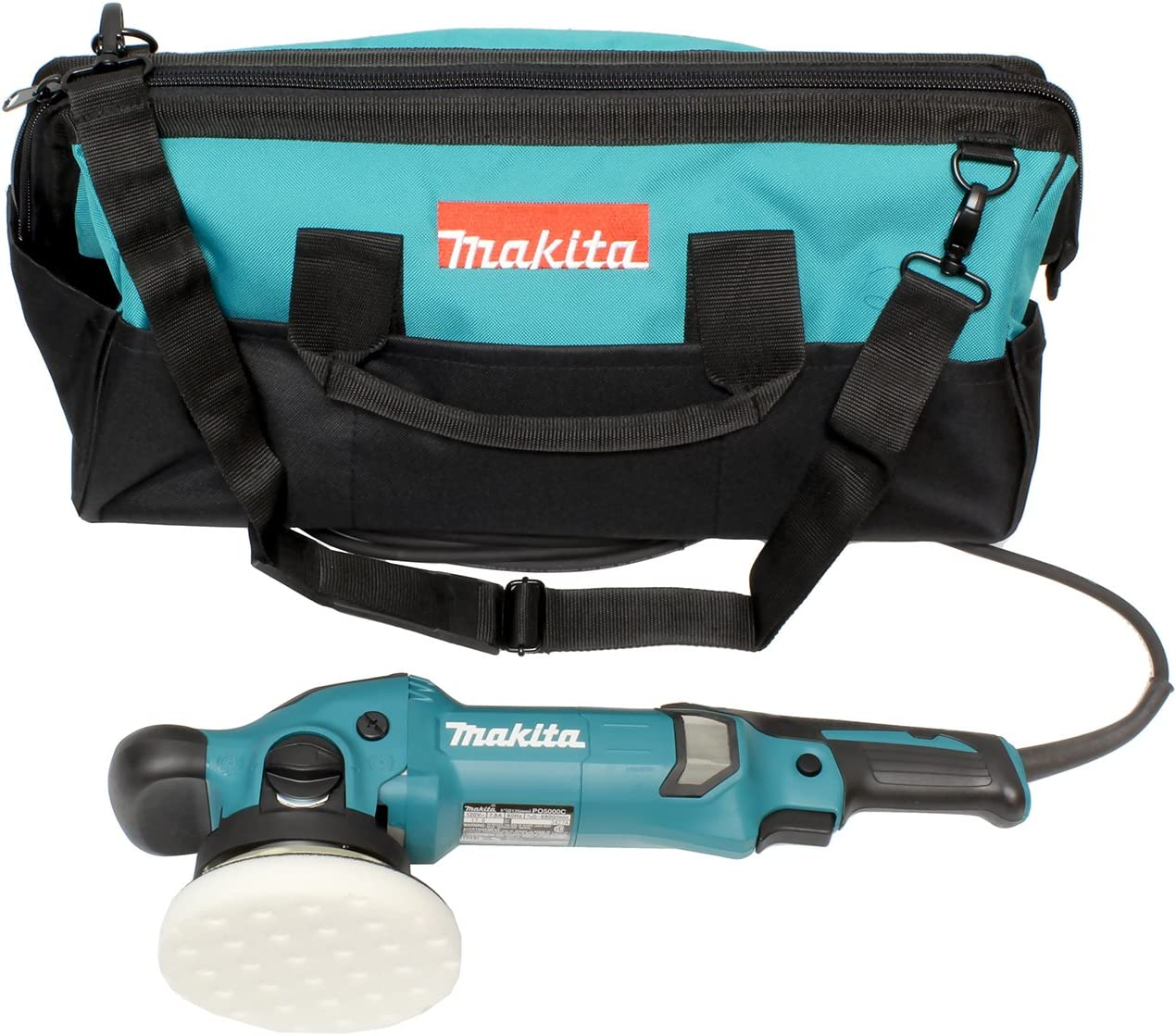 Makita PO5000CX1 5 Dual Action Random Orbit Polisher