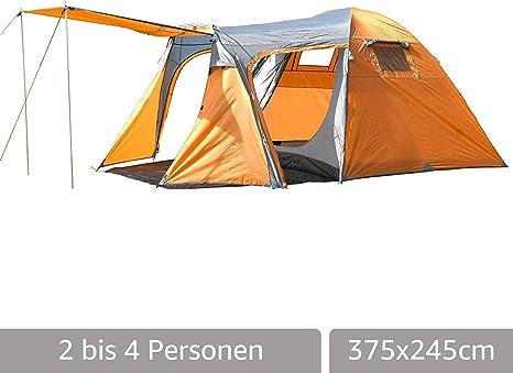 MONTIS HQ Montana, Tienda de campaña para 4 Personas, 375 x 245 cm, 7,9 kg: Amazon.es: Deportes y aire libre