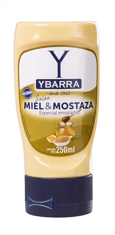 Ybarra - Salsa Miel y Mostaza, 250 ml: Amazon.es: Alimentación y ...